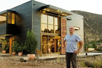Tell magazine un loft en el cerro - Casas cubo prefabricadas ...